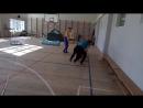 Занятие в отделении адаптивной физической культуры Центра социальной реабилитации инвалидов и детей-инвалидов Калининского район