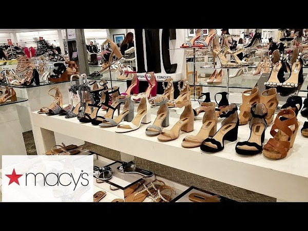 MACY'S SHOP WITH ME SHOES HEELS JESSICA SIMPSON MICHAEL KORS KATY PERRY WALK THROUGH 2018