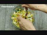 Тарелки будут вылизаны! Рейтинг - Три самых вкусных и быстрых салата с кукурузой! _ Appetitno.TV