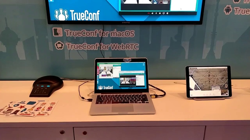 ISE 2018 Веб-конференции TrueConf WebRTC