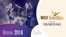 Imametdinov Bezzubova GER 2018 GrandSlam LAT Rimini R2 S DanceSport Total