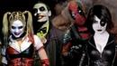 Super Power Beat Down на русском   Джокер и Харли Квин против Дэдпула и Домино   Episode 16