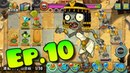 Plants vs. Zombies All Stars - All Bosses Ancient Egypt, Upgrade Plant, Cleopatra Zombie (Ep.10)