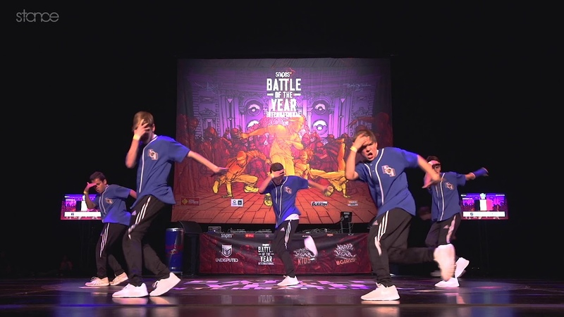 Battle Droids (Belgium) - SNIPES BOTY Kids 2018 - Showcase