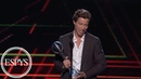 Shaun White wins Best Olympic Moment award | 2018 ESPYS | ESPN