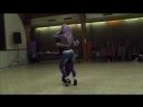 Albir Sara dancing Kizomba to Pokemon Pikachu