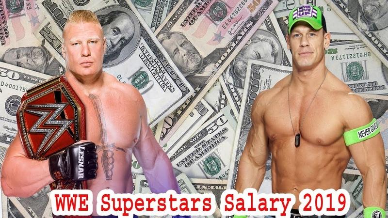 Top 10 Highest Salary WWE Wrestlers Superstars 2019