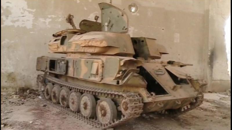 Сирийское примирение боевики сдают танки