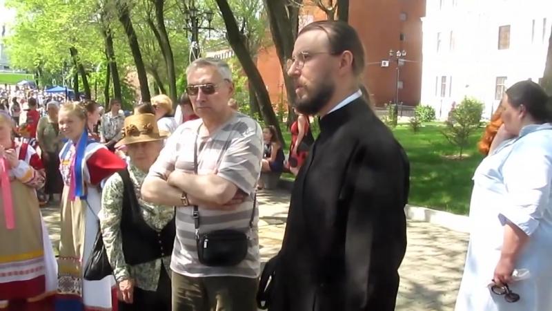 20 05 2018 Разборки на празднике Славянской письменности и культуры Хабаровск