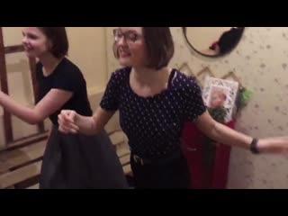 #100местдлятанцев Настя и Таня или чем отличаются женская и мужская раздевалка))