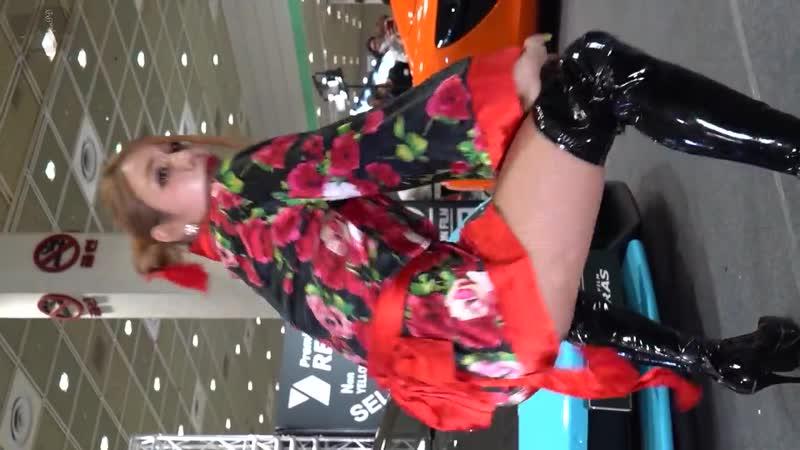 [4K직캠] 180721 플윗미(Fly With Me) 샤샤 - 섹시 댄스 퍼포먼스 근접 가로직캠 @2018 서울 오토살롱 by. fanPD