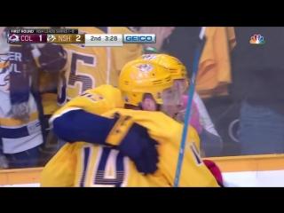 Colorado Avalanche vs Nashville Predators R1, Gm2 apr 14, 2018