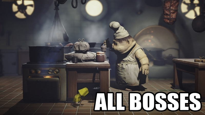 Little Nightmares All Bosses With Cutscenes HD 1080p60 PC