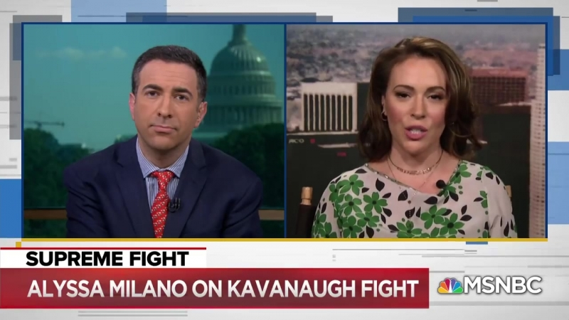 Alyssa Milano Donald Trump Is Defying The American Majority The Beat With Ari