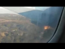 Пассажир снял падение самолета в ЮАР.