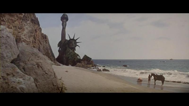 Планета обезьян 1968. Финал. Маньяки, что вы наделали!
