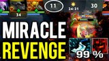 Revenge with GOD Mode Raze! MIRACLE- Shadow Fiend Comeback DOTA 2