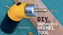Making a Brushless Dremel Tool from Scrap