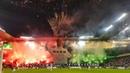 Legia Warszawa - Cracovia Ultras Legia Warszawa Choreo Pyro Fireworks 17/02/2019