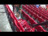 How did Senegal fans celebrate after their team won their first match at the WorldCup - - .mp4
