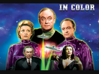 План 9 из открытого космоса / plan 9 from outer space (1959) dir. ed wood [in color]