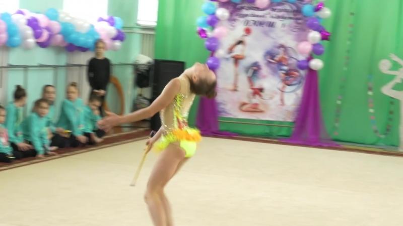 Відкрита першість з художньої гімнастики (КЗ ДЮСШ №1 м. Нікополь)