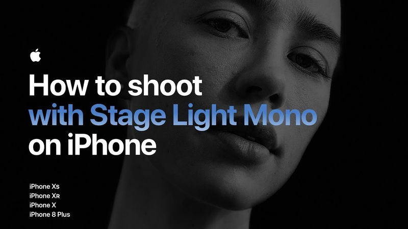 How to shoot with Stage Light Mono on iPhone Apple