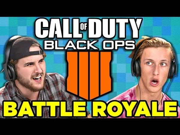 Fortnite Killer? | Call of Duty: Black Ops 4 - Battle Royale (React: Gaming)