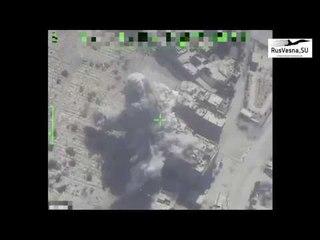 Охота на ИГИЛ : БПЛА ВКС России выследил 2 отряда боевиков, а Су 34 нанёс удары