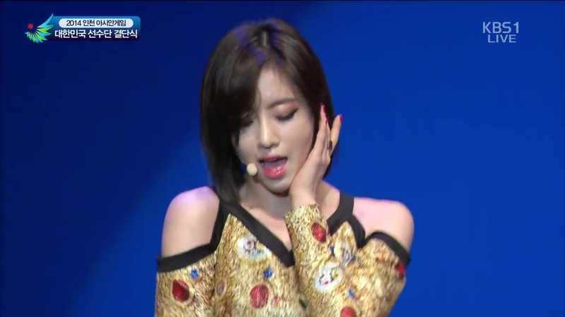 140911 T-ara - Number 9 @ KBS 2014 17th Incheon Asian Games