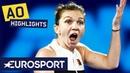 Simona Halep vs Sofia Kenin Highlights Australian Open 2019 Round 2 Eurosport