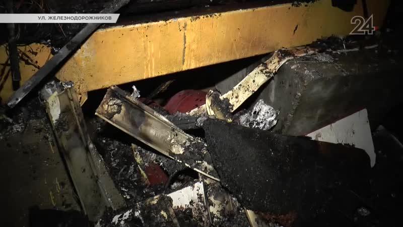 Причиной пожара, в котором умер охранник стоянки, мог быть непотушенный окурок