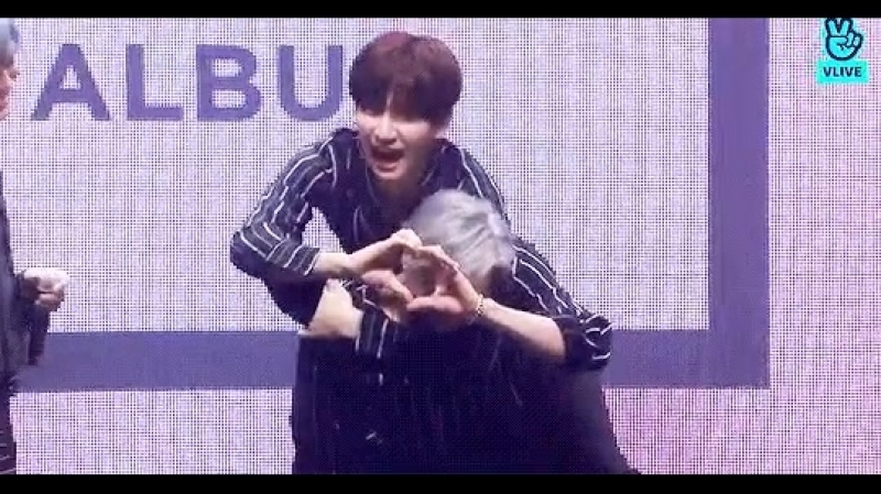 Taekwoon and hyuk heart