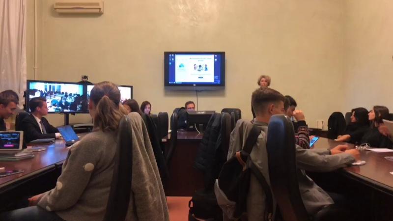 Заседание Студенческого Совета СПбГУ