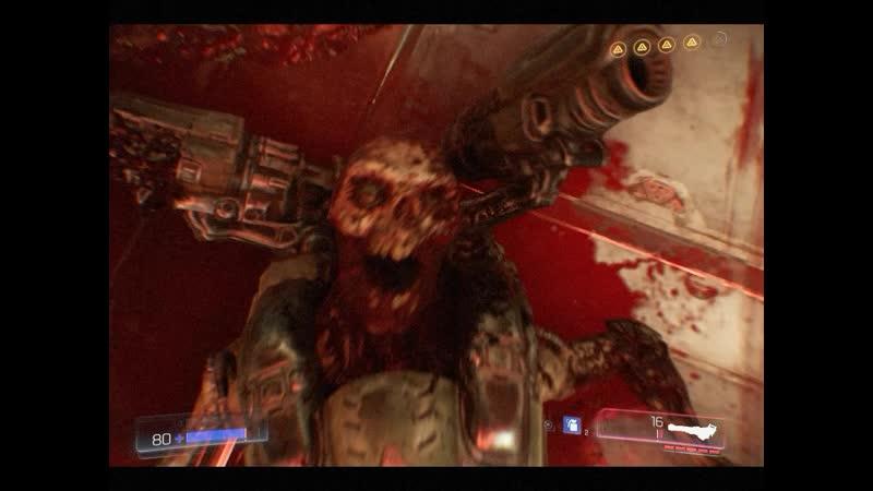 Doom Зачем улетать когда монстры прибыли