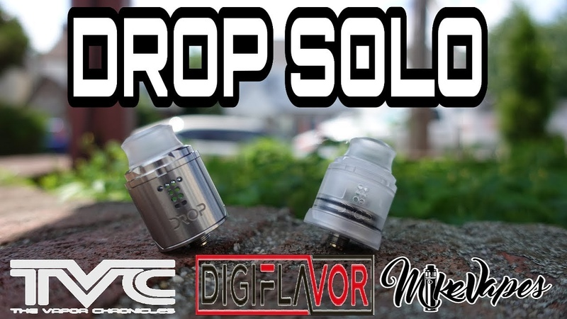 DROP SOLO Rda By TVC Digiflavor - Build Wick - Mike Vapes