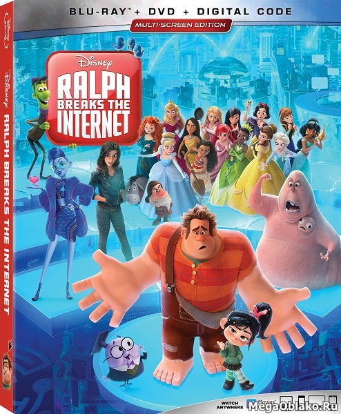 Ральф против интернета / Ralph Breaks the Internet (2018/BDRip/HDRip/3D)