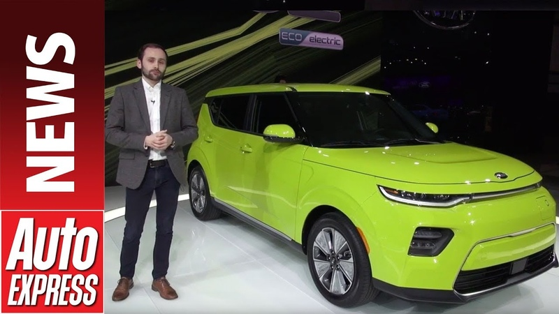 New Kia Soul - the small quirky SUV jumps on the EV bandwagon