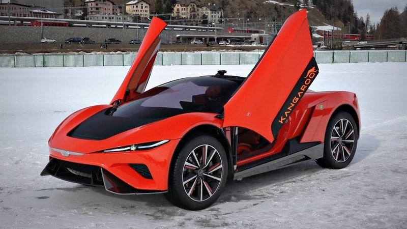GFG Style Kangaroo 'Hyper-SUV' Concept World Premiere! - Driving on Snow, Overview More!