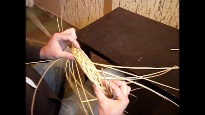 """Плетение """"косички""""(кромка на крышке шкатулки)-Weaving braids"""