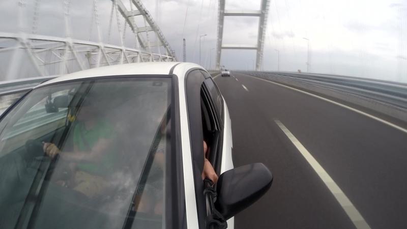 Крымский мост из Краснодара в Крым за достопримечательностями
