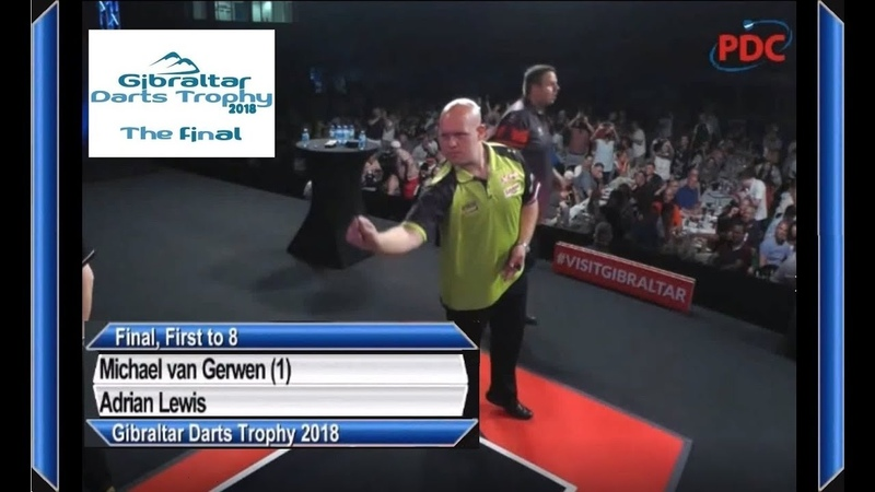 Gibraltar Darts Trophy 2018 Final Michael van Gerwen vs Adrian Lewis