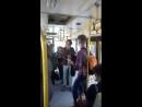 В автобусе Сыктывкара классно спели