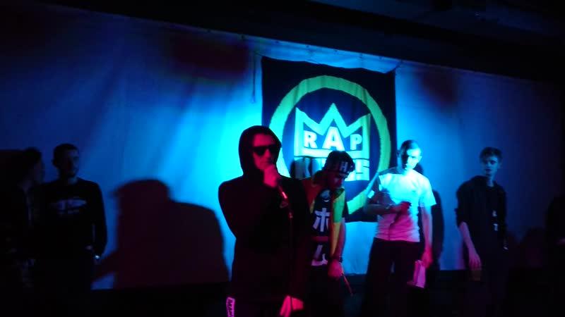 Выступление на RAP KINGS. Сэм Батаков - Давай потанцуем