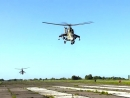 Летно-тактическое учение экипажей вертолетов Ми-24 и Ми-8