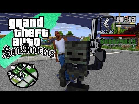 Monster School - GTA SAN ANDREAS FULL MOVIE - Minecraft Animation