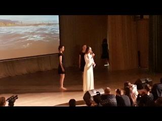 Мария Решетникова на конкурсе Балтийская жемчужина