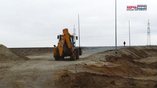 Первый этап трассы Таривда: уложено 65 км асфальтобетона