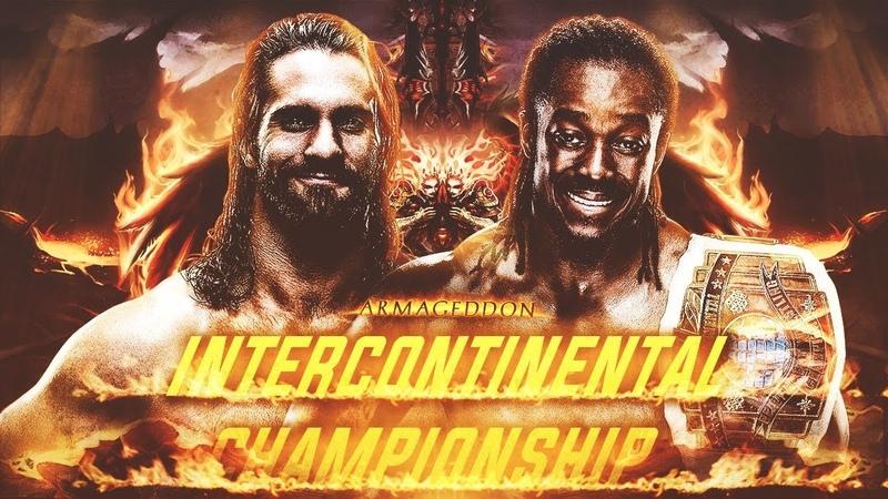 Kofi Kingston vs Seth Rollins