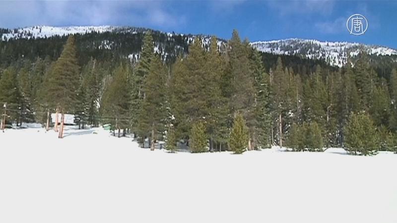 Снег в горах Калифорнии надежда на окончание засухи новости